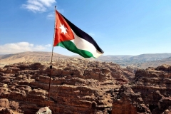 Jordanija - Petra - visoki žrtveniški  prostor nad mestom