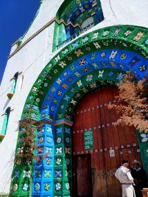 Mehika - San Juan-Chamula-cerkev