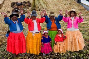 Peru - Plavajoči otoki Uros
