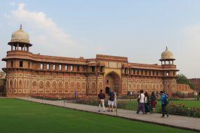Indija, Agra-Rdeča trdnajva