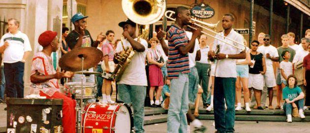 Amerika- New Orleans-glasba