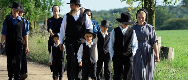 Amish-family
