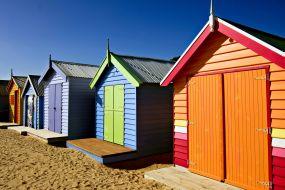 Avstralija - Brighton beach - hiške