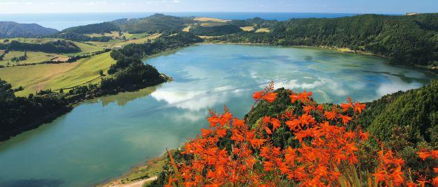 Azores-Sao Miguel-Lagoa do Fogo