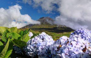 Azori-Pico vulkan
