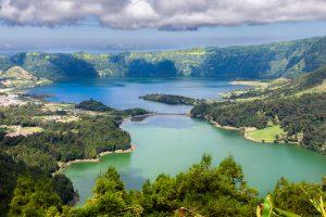 Azori-pogled na jezera