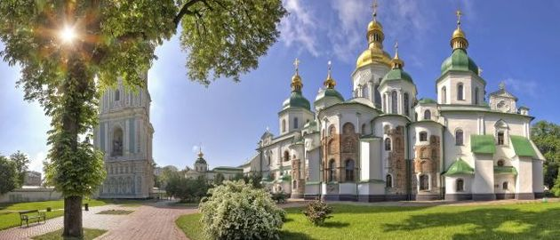 Ukrajina - Katedrala sv Sofije - Kijev