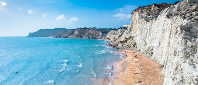 Sicilija-Turške stopnice plaža