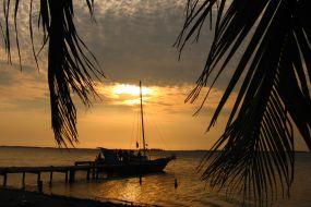 Belize-plaža