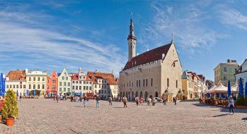 Estonija-Tallin, mestno središče