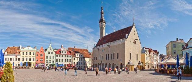 Estonia-Tallin-Mestno središče