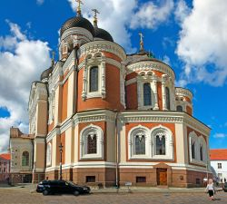 Estonija-Tallin, katedrala Aleksandra Nevskega