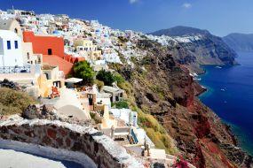 Grčija-Santorini-vasica Thira