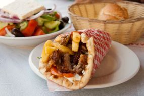 Grčija-Gyros pita