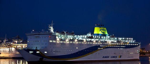 Grčija z ladjo