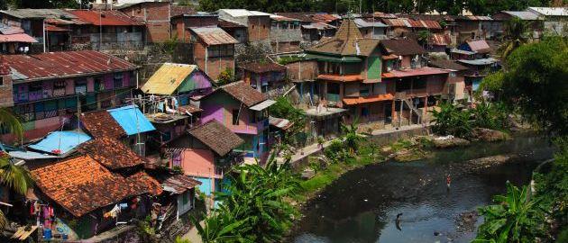 Indoenzija-Vas ob reki