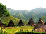 Indonezija Flores-wae-rebo