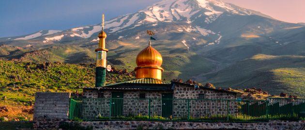 Iran- Mošeja pod Demavendom