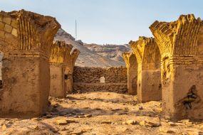 Iran - puščava ob Yazdu