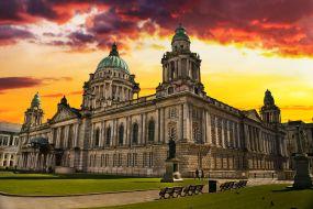 Irska-Belfast-mestna hiša