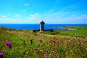 Irska-Doonagore grad
