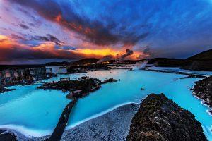 Islandija-Modra laguna
