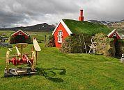 Islandija -Tradicionalne islandske hiše
