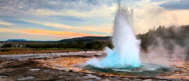 Islandija-gejzir