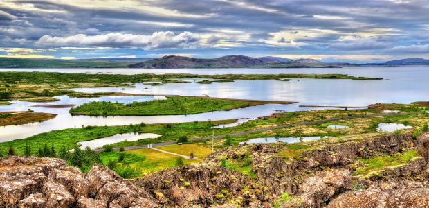 Islandija-nacionalni park Thingvellir