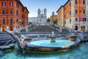 Italija-Rim-Španske stopnice