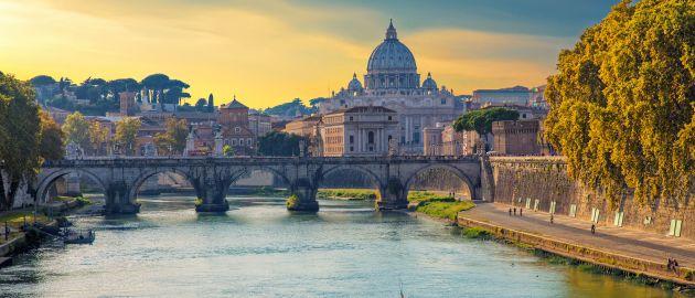 Italija - Rim, razgled na baziliko sv. Petra