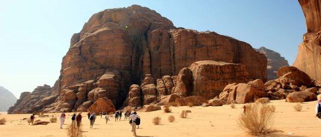 Jordanija - Hoja po puščavi