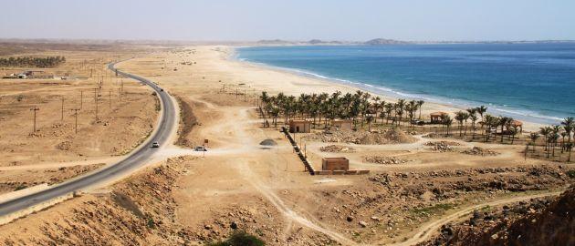 Južni Oman in neskončne bele plaže