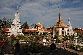 Kambodža Phnom Phen kraljeva palača