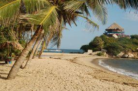 Kolumbija – Tayrona nacionalni prak – plaža