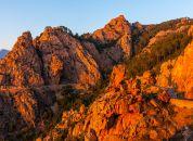 Korzika-Scandola, rdeče skale