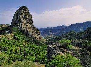 La Gomera-skale