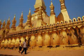 Laos, budistični tempelj
