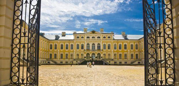 Latvija-Palača Rundale