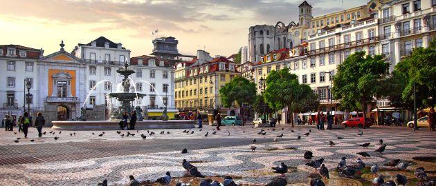 Lizbona-Rossio trg
