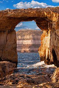 Malta-Gozo, Azurno okno
