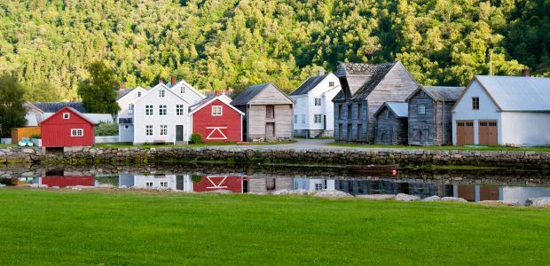 Norveška - Laerdal