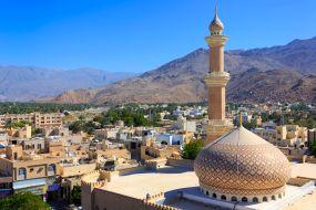 Oman – panoramski pogled na Nizwo