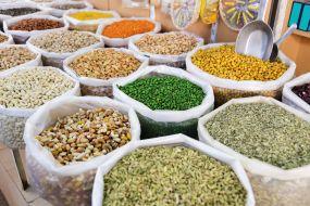 Oman , oreščki, začimbe