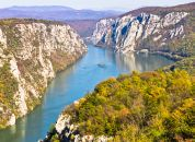 Srbija-NP-Djerdap, pogled na sotesko