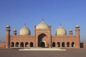 Pakistan-mošeja Badshahi-Lahore