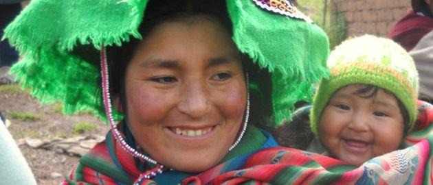 Peru-Bolivia-ljudje