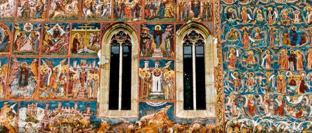Romunija- Moldau-poslikava samostana Moldovita