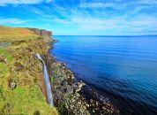 Škotska-Isle of Skye-Kilt Rock