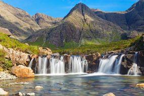 Škotska-Isle of Skye, bazenčki